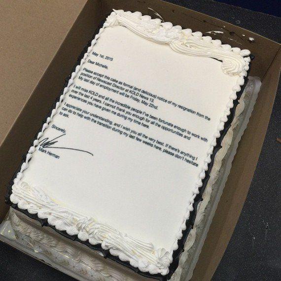 Un Américain publie sa lettre de démission sur un