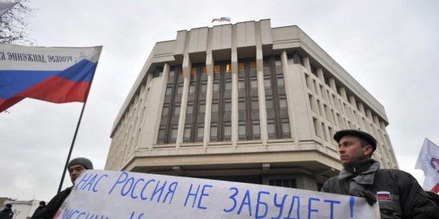 Ukraine: le Parlement de Crimée vote une déclaration