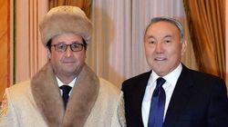Cette photo de Hollande au Kazakhstan fait bien rire le