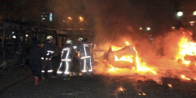 L'attentat à la voiture piégée dans le centre d'Ankara fait 37 morts, dont l'un des