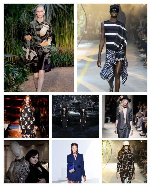 Jour 9 à la Fashion week, générique de fin et créateur à