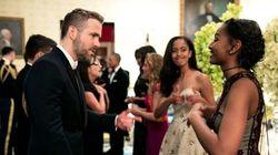 La réaction de Malia Obama quand sa soeur parle à Ryan