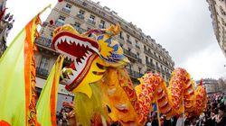 Paris aux couleurs du Nouvel an