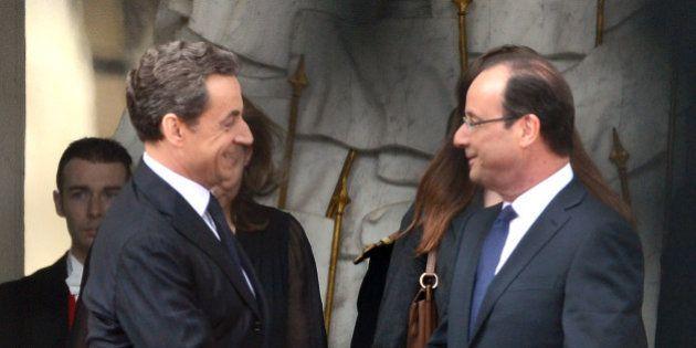 Trois ans de François Hollande à l'Elysée: où en était Nicolas Sarkozy à la même