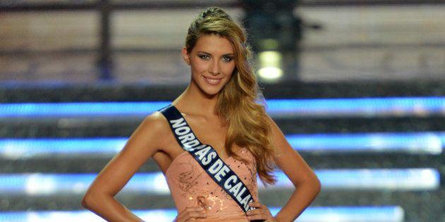 La gagnante de Miss France 2015 est Camille Cerf, Miss