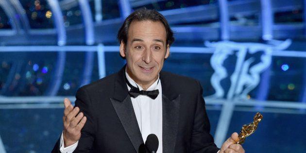 PHOTOS. Oscars 2015: Alexandre Desplat, seul français récompensé, pour la musique de