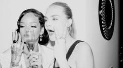 PHOTOS. Rihanna et Cara Delevingne ont passé un super