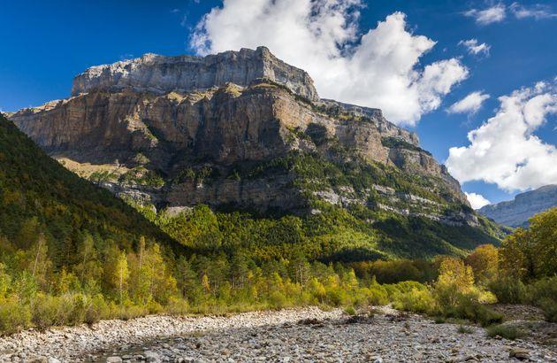 arte perdido monte altitud ordesa rupestre nacional parque