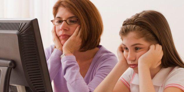 Contrôle parental sur Internet: pourquoi certains parents sont plus inquiets que