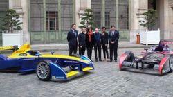 Le tracé de la course de Formule E dans Paris