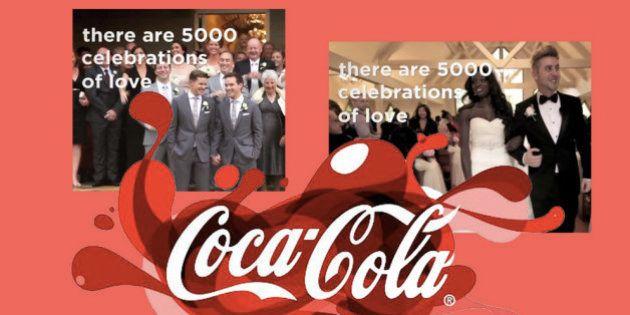 Mariage gay : pour Coca, tous les esprits ne semblent pas