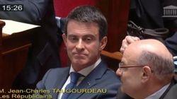 VIDÉO - La réponse de Valls quand un député de l'opposition se moque de son passage chez