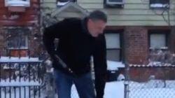 Tempête de neige à New York : le nouveau maire montre