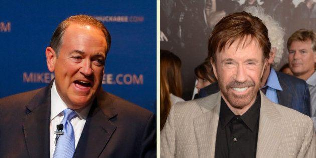 Chuck Norris soutient (encore une fois) le très conservateur Mike Huckabee pour l'élection présidentielle...