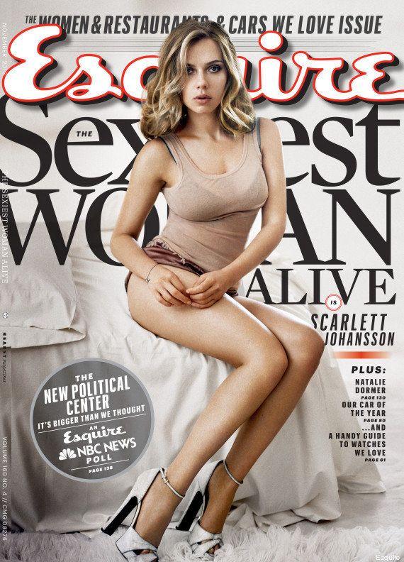 PHOTOS. Scarlett Johansson élue femme la plus sexy par
