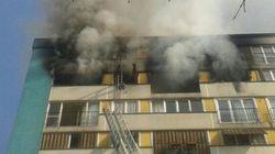 Violent incendie à Clichy-sous-Bois : 10 blessés dont 3