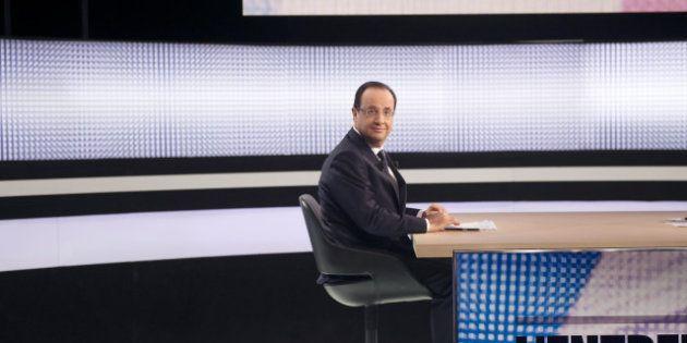 Hollande à la télévision: un président à la barre d'un