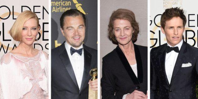 Découvrez les nominations aux Oscars 2016, dont Leonardo DiCaprio, Eddie Redmayne, Cate Blanchett ou...