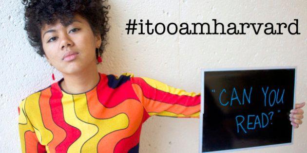 PHOTOS. Contre le racisme à Harvard, les étudiants noirs du campus lancent une campagne