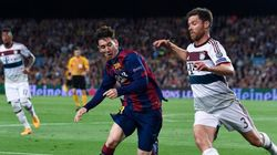 Regardez les buts de Barcelone-Bayern