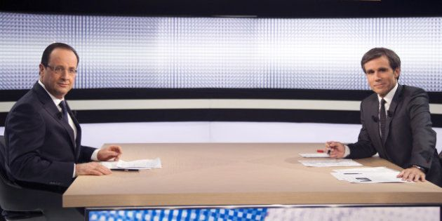François Hollande à la télévision: huit millions de téléspectateurs sur France