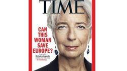 Le Time présente Christine Lagarde en messie de