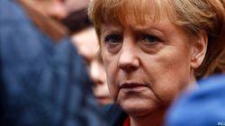 Merkel chute en ski de fond et se fêle le