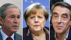 Bush, Merkel, Fillon... Quand les politiques se