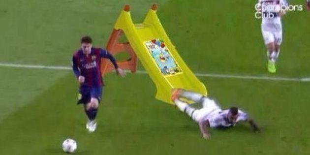 Barça-Bayern: la chute de Jérome Boateng devient la risée des réseaux