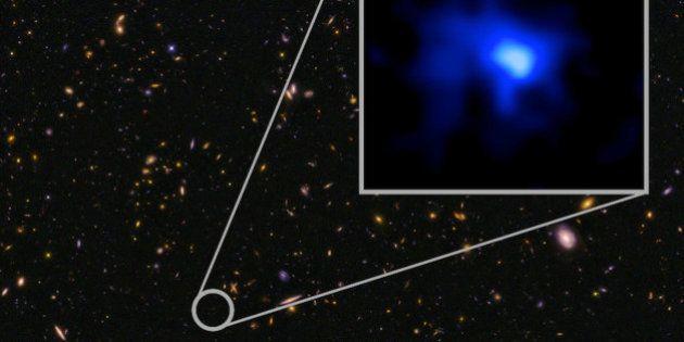 Voici la galaxie la plus éloignée de la Terre, qui date de 13,8 milliards