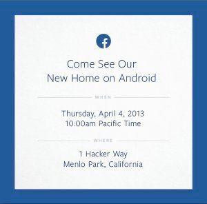 Facebook Phone: une présentation d'un mobile programmée le 4 avril... ou un simple gadget