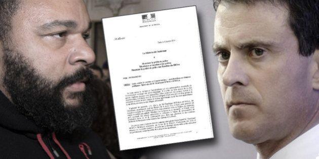 Interdiction des spectacles de Dieudonné: Manuel Valls a envoyé sa circulaire aux préfets, Dieudonné...
