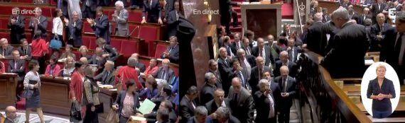 VIDEOS - Un UMP qui imite une poule pour railler une députée provoque un tollé à