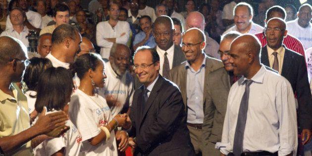 François Hollande en outre-mer: un week-end pour se rappeler au bon souvenir de