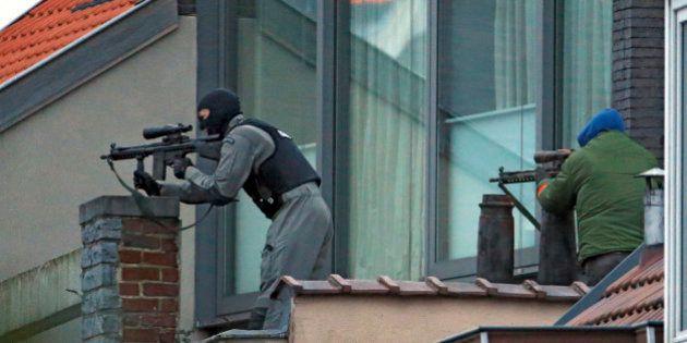 Opération antiterroriste à Bruxelles : 2 personnes en fuite
