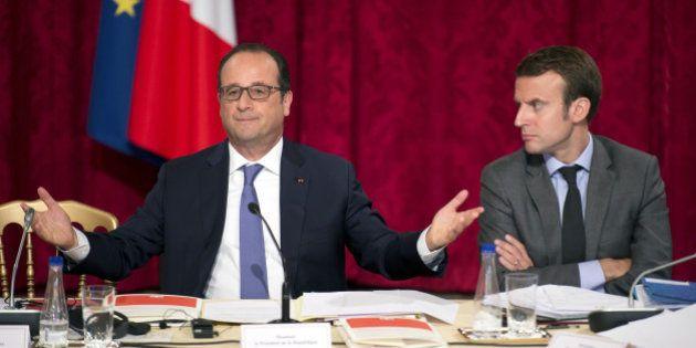 Macron soutient Hollande pour 2017 et fait taire les