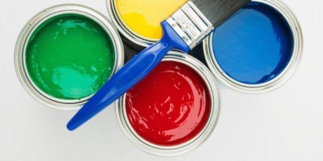 Aujourd'hui, même la peinture se recycle