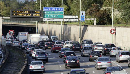 Les villes et routes les plus embouteillées en France en