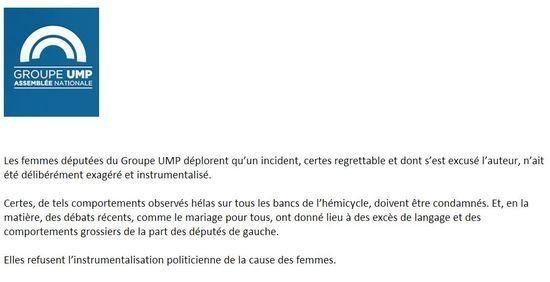Incident de la poule : les députées UMP sortent de leur