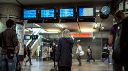 Le trafic reprend progressivement à la gare Lyon Part-Dieu après une