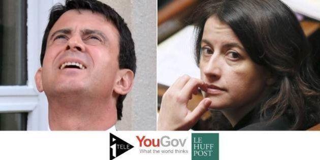 SONDAGE - Valls remonte, Duflot s'effondre, Fillon rechute... Les tops et les flops du mois