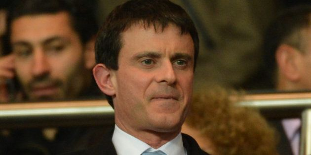 Manuel Valls supporter du FC Barcelone contre le PSG en Ligue des