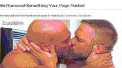 Son compte Facebook suspendu pour une photo sur laquelle il embrasse son
