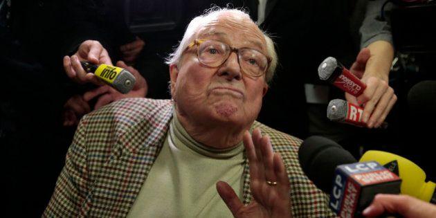 Jean-Marie Le Pen désavoué par 84% des sympathisants Front