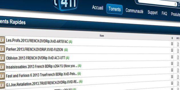 T411 : Après Pirate Bay, le site francophone de torrents menacé de