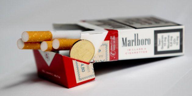 Prix du tabac: le gel des prix au 1er janvier 2015 ne fait pas que des