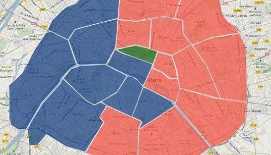 La carte des candidats aux municipales à Paris, arrondissement par