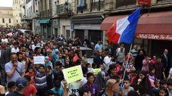 Des centaines de manifestants à Béziers contre les propos de Robert