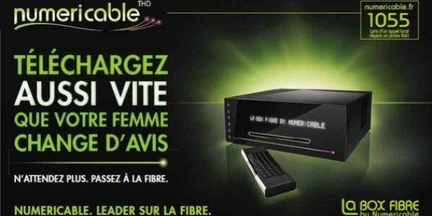 Pub de Numericable: sa com' sexiste continue