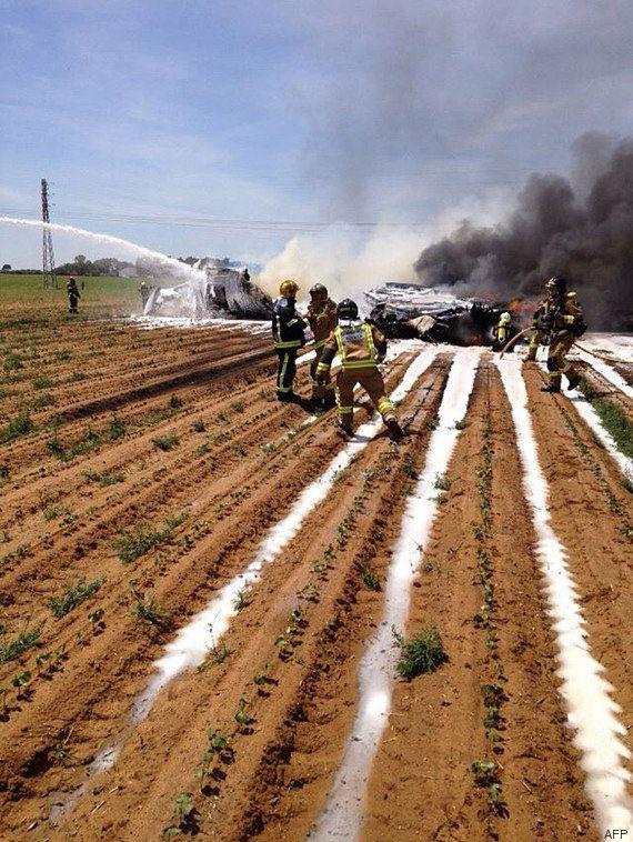 PHOTOS. Un avion militaire A400M s'écrase près de Séville, 4